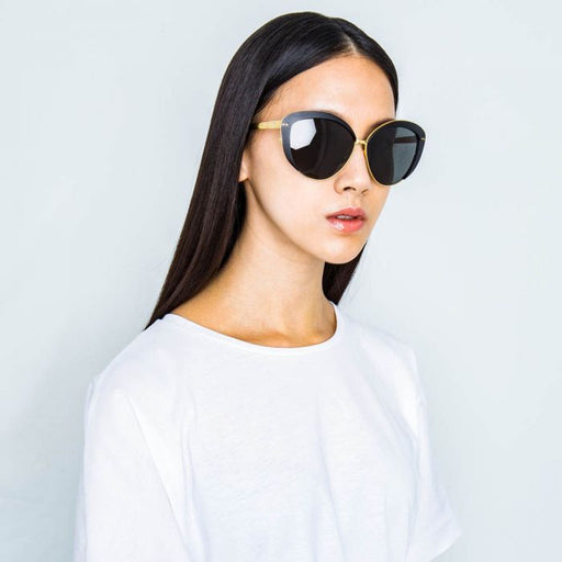 Linda Farrow 579 C1 Cat Eye Sunglasses