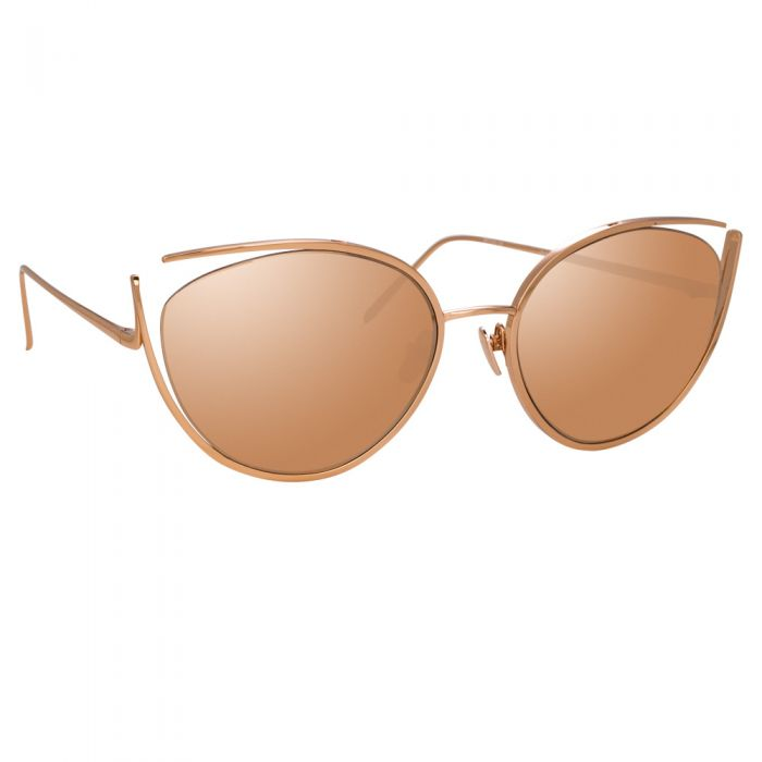 Linda Farrow 668 C3 Cat Eye Sunglasses