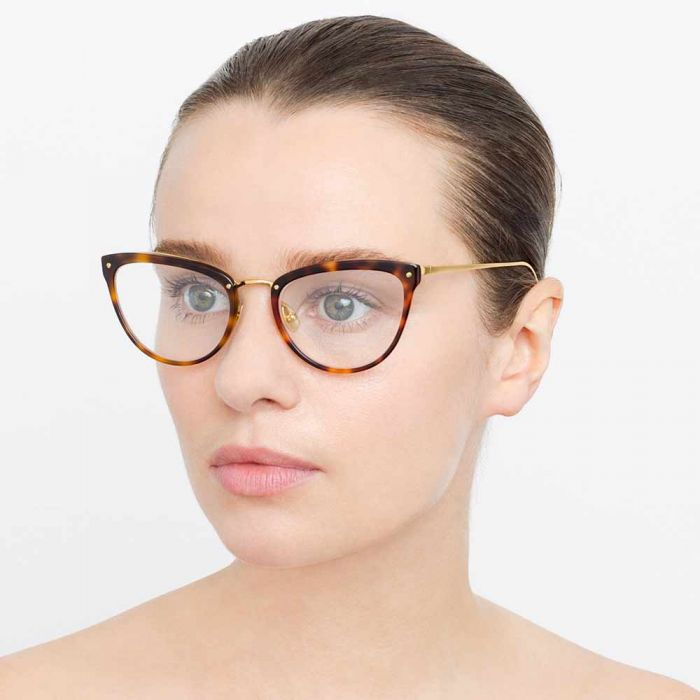 Linda Farrow 683 C11 Cat Eye Optical Frame