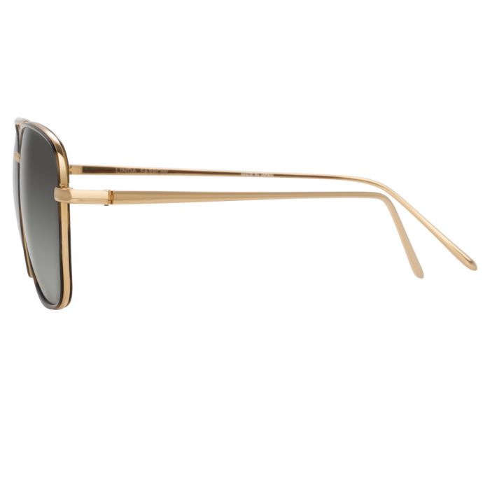 Linda Farrow 703 C4 Aviator Sunglasses