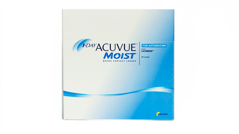 1-Day Acuvue Moist for Astigmatism(90 lenses)