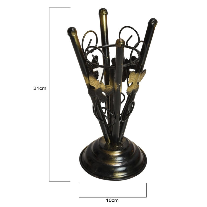 Iron Vase with Artificial Plastic Flower (1 Piece) only in Bigswipe