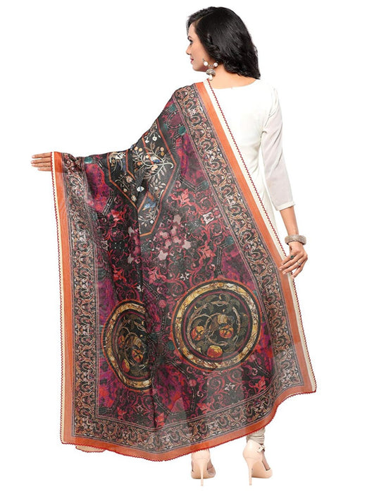 Multi Color Mock Leno Dupatta only in Bigswipe