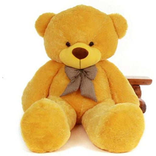 80Cm Brown Teddy With Tie - 3ft only in Bigswipe