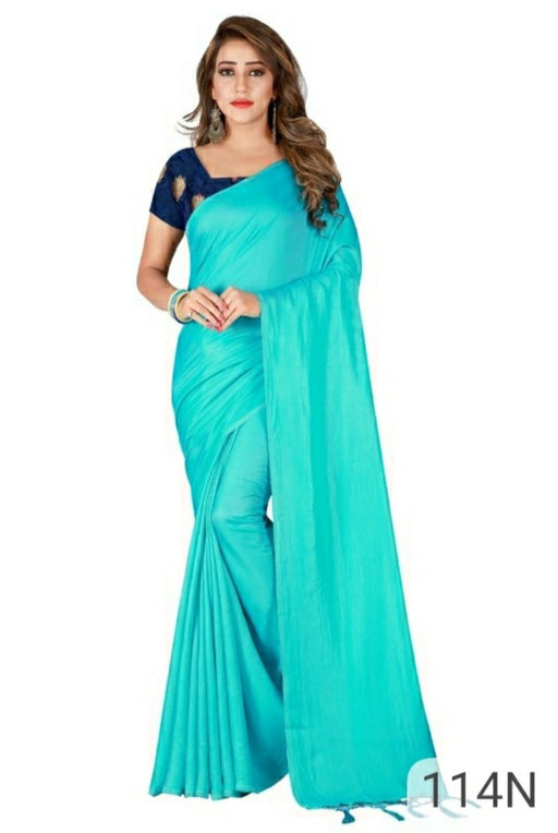 Simple crepe sarees