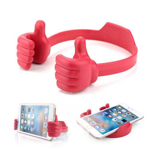 Flexible Multi-angle Hand Model Mobile Stand_Red only in Bigswipe