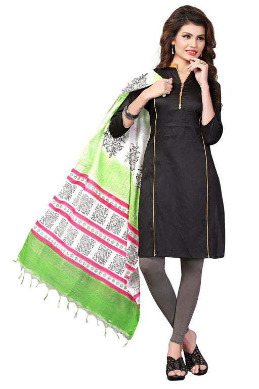 Poly Cotton Printed Dupatta only in Bigswipe