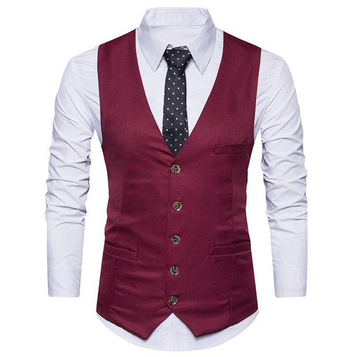 Maroon Color Men's Party Wear waistcoat Ethnic Jacket only in Bigswipe