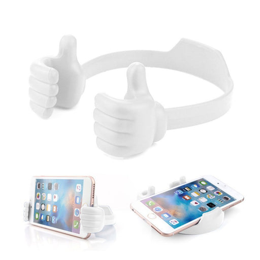 Flexible Multi-angle Hand Model Mobile Stand_White only in Bigswipe