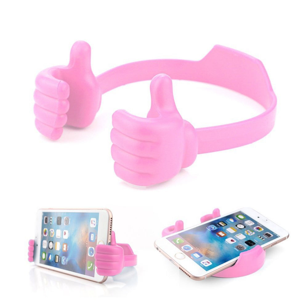 Flexible Multi-angle Hand Model Mobile Stand_Pink only in Bigswipe