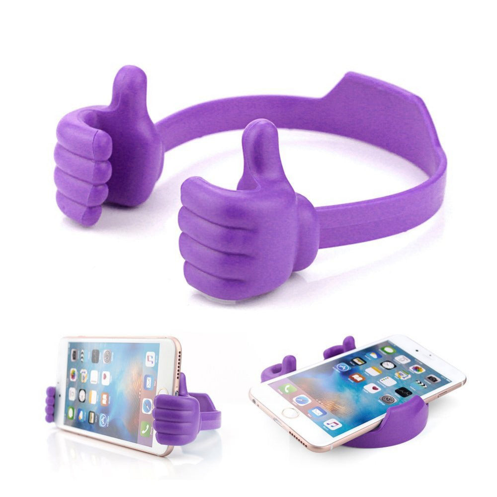 Flexible Multi-angle Hand Model Mobile Stand_Purple only in Bigswipe