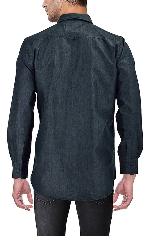 Mens Glossy Black Shirt only in Bigswipe