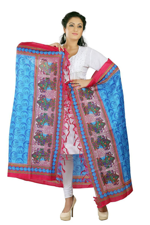 Art Silk Printed Dupatta only in Bigswipe