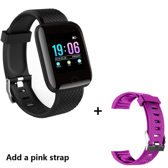 Smart Watch Men Blood Pressure Waterproof Smartwatch Women Heart Rate Monitor Fitness Tracker Watch Sport For Android IOS only in Bigswipe