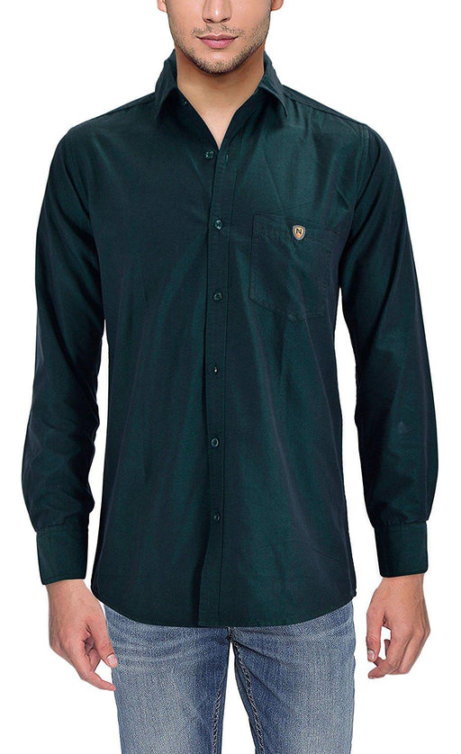 Mens Stylish Plain Shirt only in Bigswipe