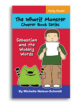 Book 3: Sebastian and the Wobbly Words - Paperback or Hardback