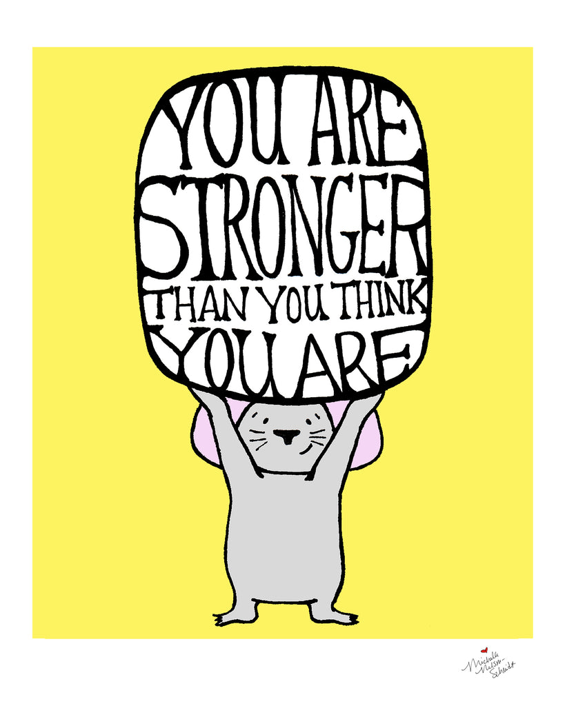 Mouse Knows You're Strong Digital Download