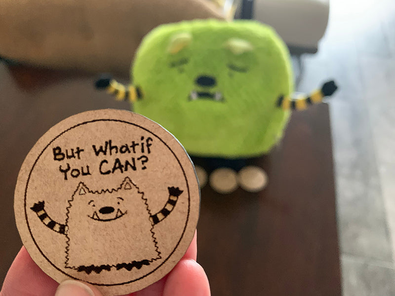 Whatif You CAN? Whatif Monster Coin