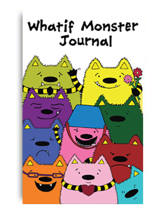 The Whatif Monster Journal and Whatif Monster Pencil