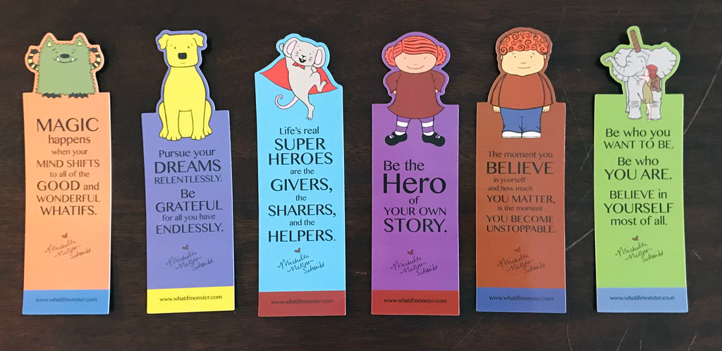 Set of MNS Character Bookmarks (Six bookmarks)