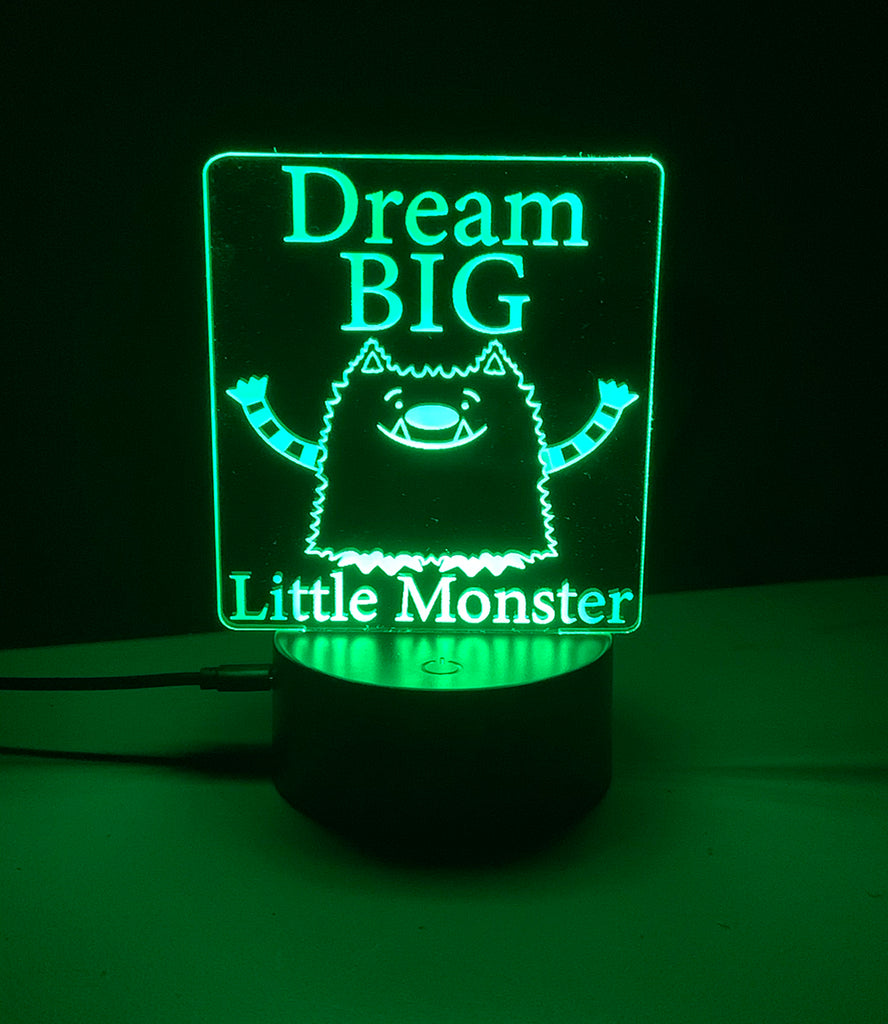 Make the World Brighter MNS Character Dresser-top LED Nightlights