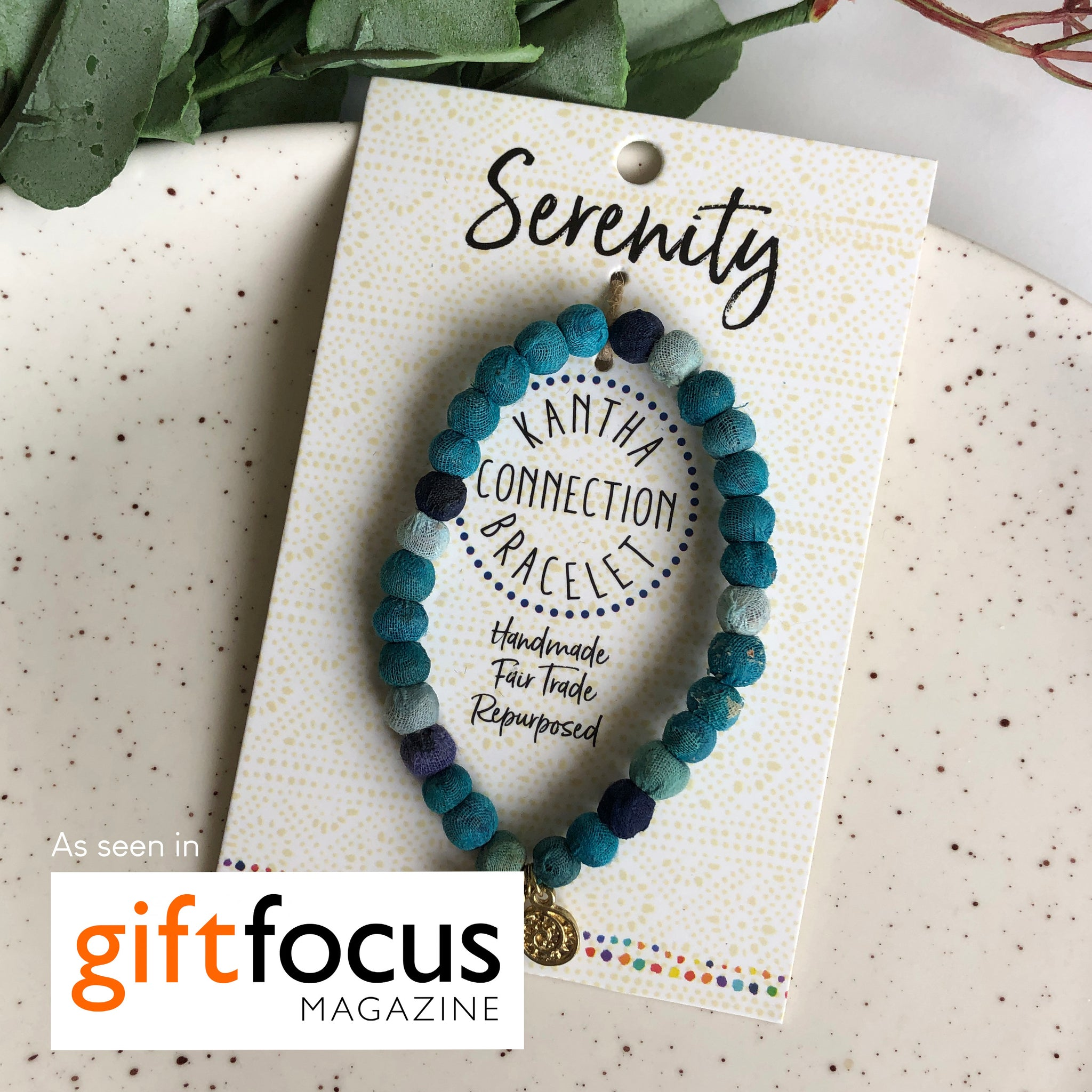 Serenity • Kantha Connection Bracelet