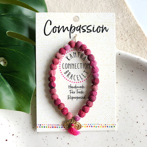 Compassion • Kantha Connection Bracelet