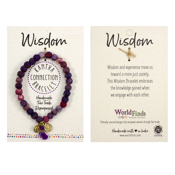 Wisdom • Kantha Connection Bracelet