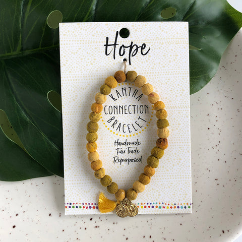 Hope • Kantha Connection Bracelet