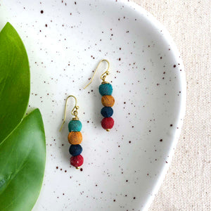 Quatre Kantha Earrings
