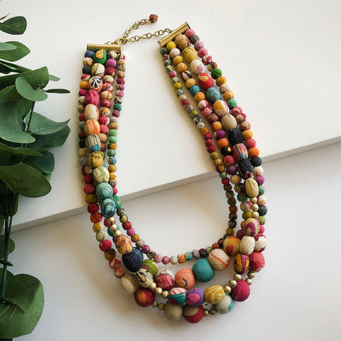 Kantha Aura Necklace