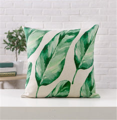 Tropical Style Pillow Cover