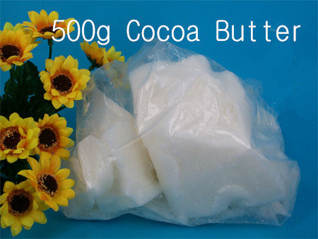 Free Shipping 500g Cocoa Butter  Handmade Soap Lipstick Base Natural White Raw  Hand Made Supplies