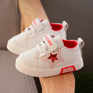 2018 Spring Autumn Kids Shoes For Boys Children Canvas Shoes Girls Candy Color Kids Sports Casual Shoes Teenage Flat Shoes