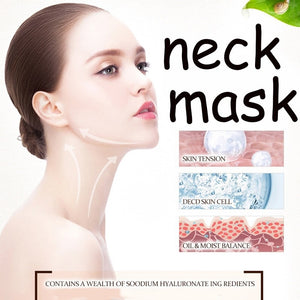 BIOAQUA Neck Skin Care Anti Aging Mask Anti Wrinkle Whitening Nourishing Best Tighten Lift Neck Firming Products Dropshipping
