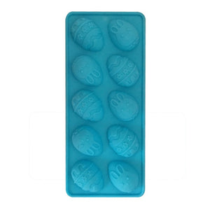 Easter Bunny Silicone Eggs Chocolate Cake Soap Mold Baking Ice Tray Mould