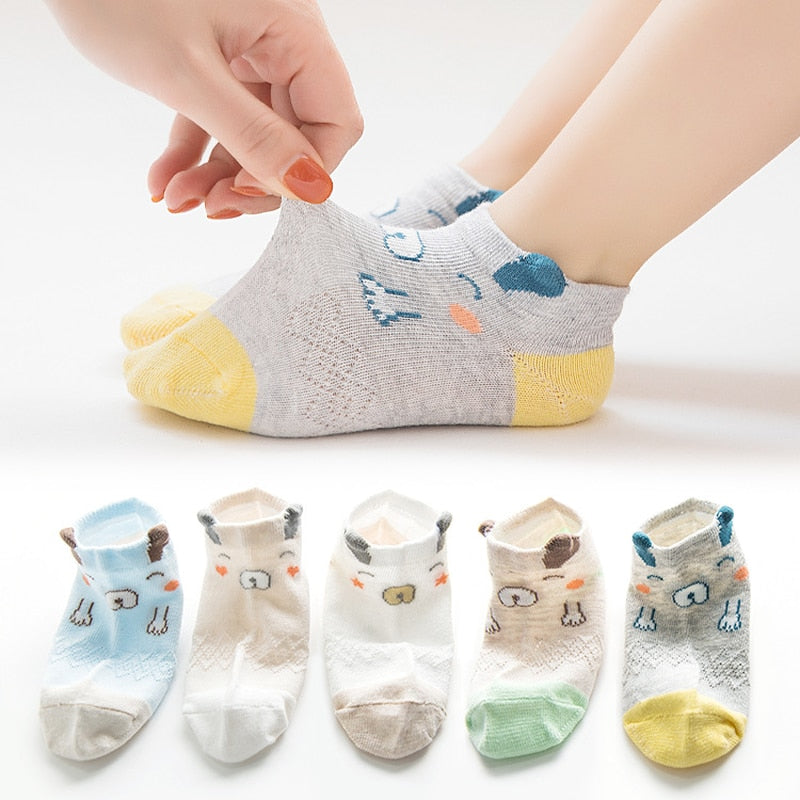 Baby Socks Newborn Cartoon Cotton Children Kids Socks Girls Infant Toddler Baby Boys Socks Summer Baby Girl Clothes Accessories