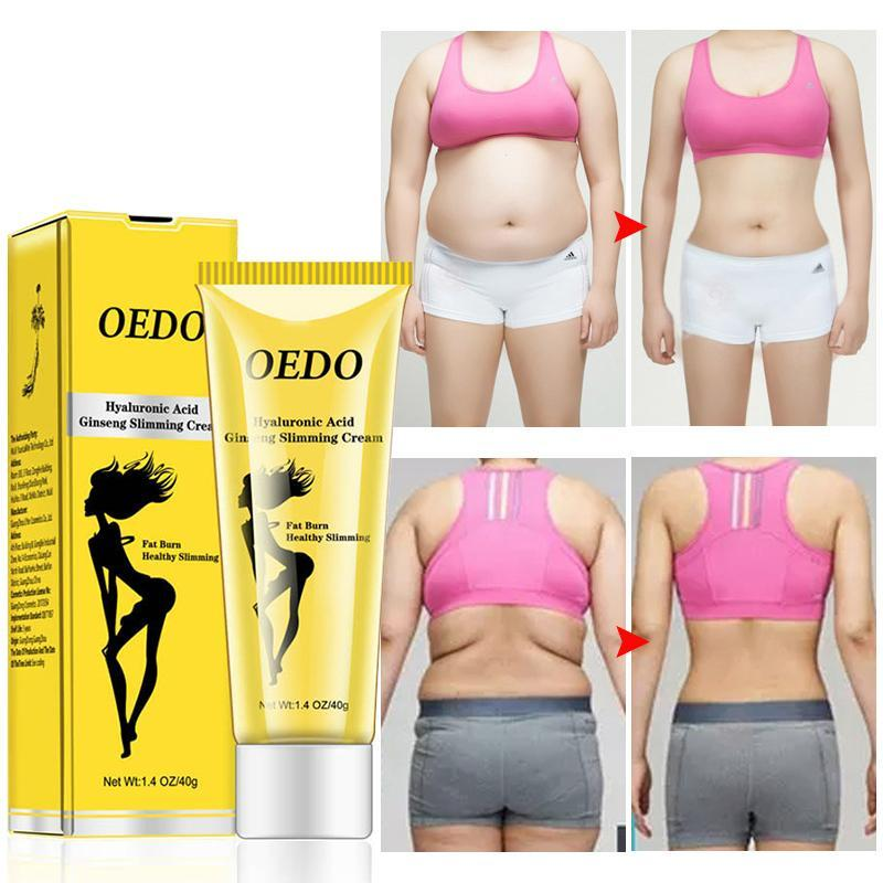 Hyaluronic Acid Ginseng Slimming Cream Reduce Cellulite Lose Weight Burn Fat Slim Gel Body Shaping Massage Creams Health Care