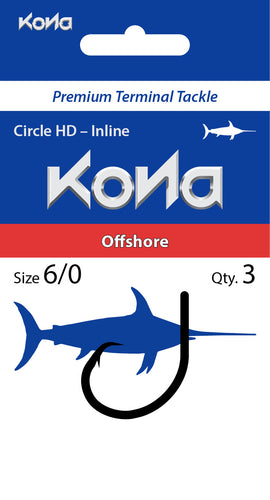 Offshore Circle Hook – Heavy Duty Inline