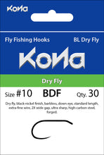 Barbless Dry Fly (BDF)