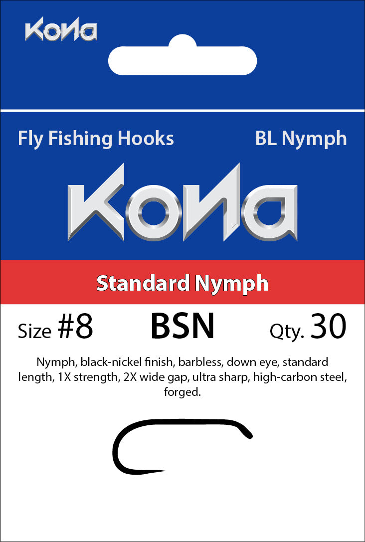 Barbless Standard Nymph (BSN)