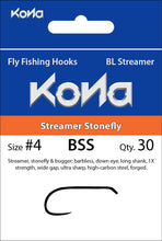 Barbless Streamer Stonefly (BSS)