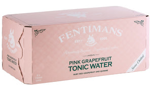 Pink Grapefruit Tonic Water