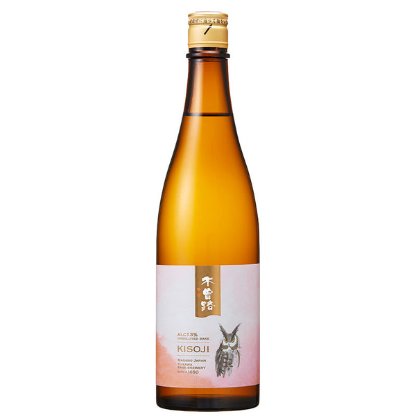 KISOJI 13% Undiluted sake (without pasteurization) 720ml