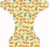 PRE-ORDER Forever My Babies Cloth Diaper - Educational Guy (Single Gussets) - ETA July 2021