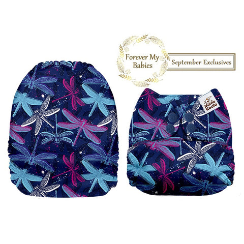 Mama Koala Cloth Diaper - Dragonflies Exclusive - IN STOCK