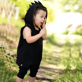 Dino Spikes Hooded Jumpsuit