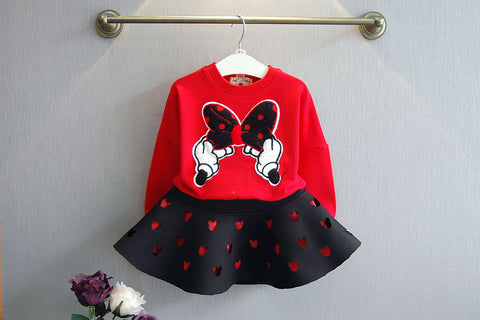 Mini Mouse Sweater n' Skirt Set