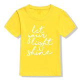 T-Shirt: Let Your Light Shine