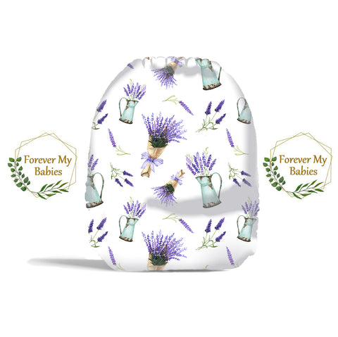 PRE-ORDER Forever My Babies Cloth Diaper - Lovely Lavendar (Single Gussets) - ETA Aug 2021